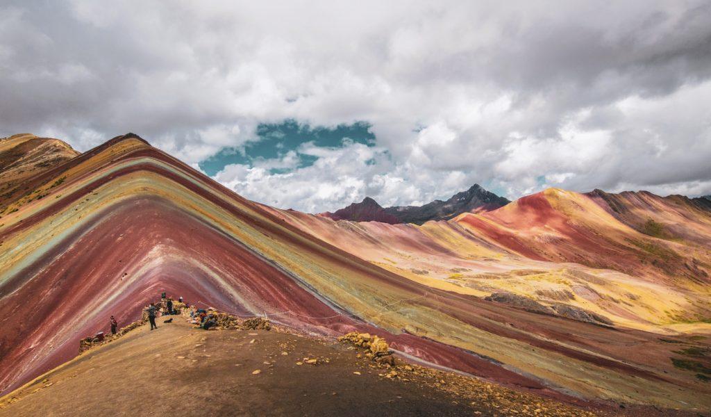 50 curiosities the Peru, rainbow mountain