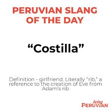 Peruvian Slang