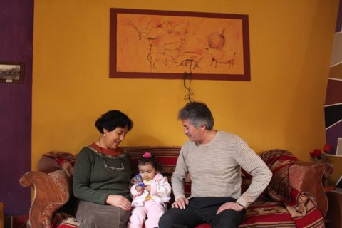 Homestay guest family